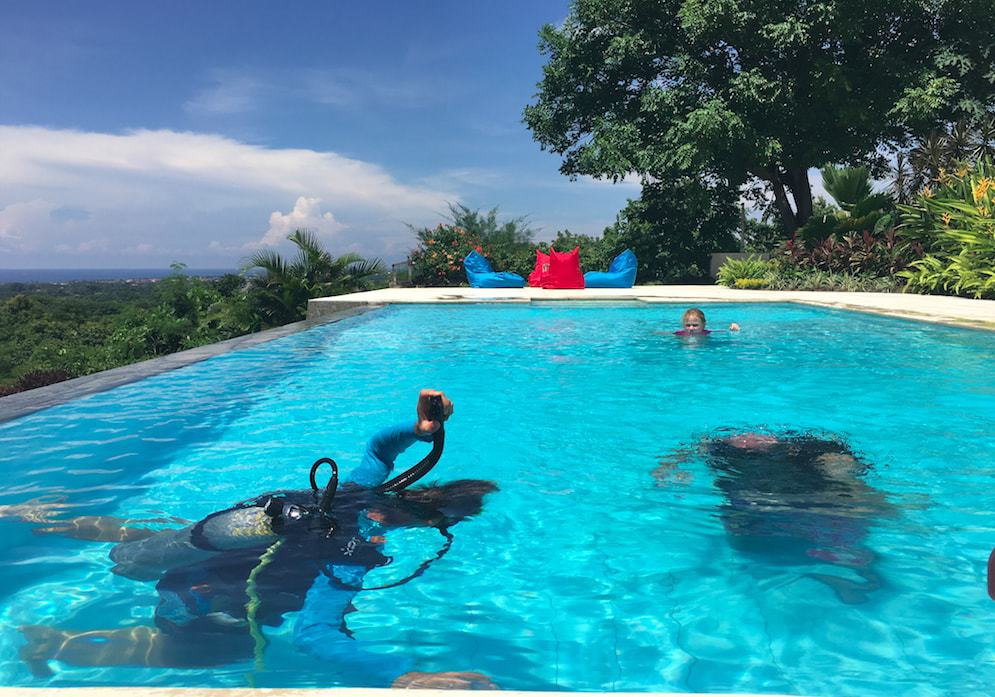 The best infinity pool activities at your Bali Villa